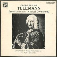 The Aulos Ensemble - Telemann: Essercizii Musici