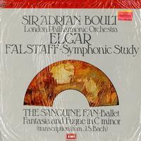 Boult, London Symphony Orchestra - Elgar: Falstaff--Symphonic Study ETC.