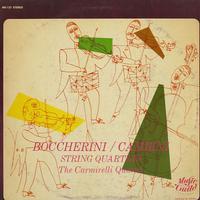 The Carmirelli Quartet - Boccherini, Cambini: String Quartets