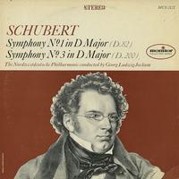 Jochum,The Nordwestdeutsche Philharmonic - Schubert: Symphony Nos. 1 & 3