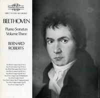 Bernard Roberts - Beethoven: Piano Sonatas Vol. 3