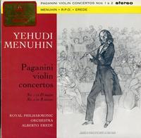 Menuhin, Erede, Royal Philharmonic Orchestra - Paganini Violin Concertos: No. 1 in D major, No. 2 in B minor