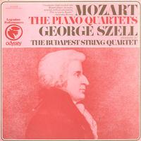 Szell, The Budapest String Quartet - Mozart: The Piano Quartets