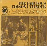 Various Artists - The Fabulous Edison Cylinder