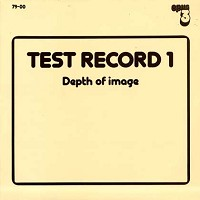 Test Record 1 - Depth Of Image