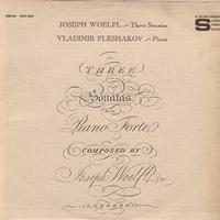 Vladimir Pleshakov - Woelfl: Three Sonatas