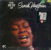 Sarah Vaughan - The Best of Sarah Vaughan