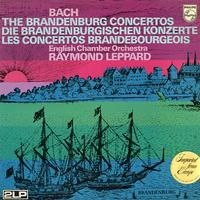 Leppard, English Chamber Orchestra - Bach: The Brandenburg Concertos