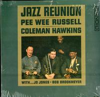 Pee Wee Russell & Coleman Hawkins w/ Jo Jones and Bob Brookmeyer-Jazz Reunion