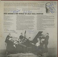 Bob Greene - The World Of Jelly Roll Morton