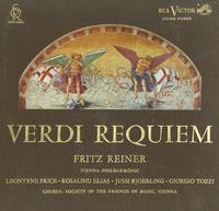 Price, Reiner, Vienna Philharmonic Orchestra - Verdi Requiem