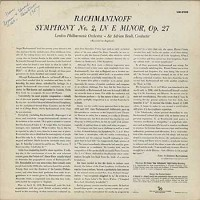 Sir Adrian Boult/ London Philharmonic Orchestra - Rachmaninoff: Symphony No. 2