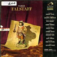 Evans, Solti, RCA Italiana Opera Orchestra and Chorus - Verdi: Falstaff