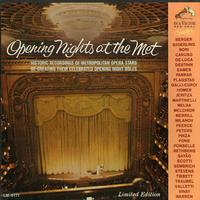 Various Artists - Opening Nights At The Met