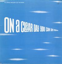 Original Soundtrack - On a Clear Day You Can See Forever