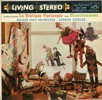 Arthur Fiedler, Boston Pops Orchestra-Rossini-Respighi: La Boutique Fantasque