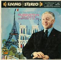 Rubinstein, Wallenstein, Symphony of the Air-Saint-Saens: Concerto No. 2 etc.