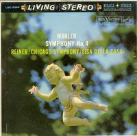 Della Casa, Reiner, Chicago Symphony Orchestra-Mahler: Symphony No.4