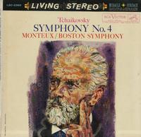 Pierre Monteux, Boston Symphony Orchestra-Tchaikovsky: Symphony No.4 in F minor