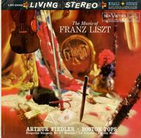 Arthur Fiedler, Boston Pops Orchestra - The Music Of Franz Liszt