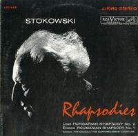 Stokowski, RCA Victor Symphony - Rhapsodies