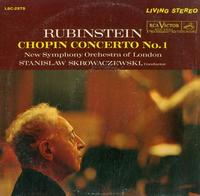 Rubinstein, Skrowaczewski, New Symphony Orchestra of London - Chopin Concerto No. 1