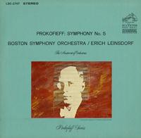 Leinsdorf, Boston Symphony Orchestra - Prokofieff: Symphony No. 5