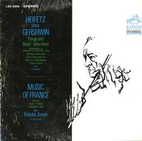 Jascha Heifetz-Heifetz plays Gershwin and the Music of France