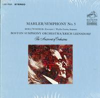 Erich Leinsdorf, Phyliss Curtain, BSO - Mahler: Symphony No. 5., Berg: Wozzeck - excerpt