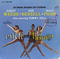 Original Cast Recording-Milk & Honey
