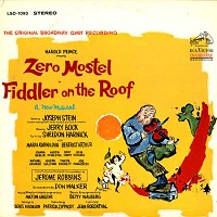 Original Cast - Fiddler On The Roof -  Preowned Vinyl Record