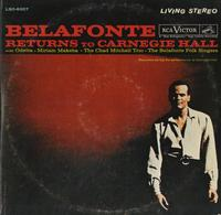 Harry Belafonte - Returns To Carnegie Hall
