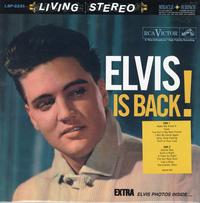 Elvis Presley - Elvis Is Back -  Preowned Vinyl Record