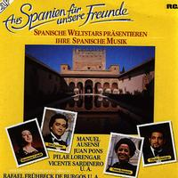 Various Artists - Spanische Weltstars Prasentieren Ihre Spanische Musik