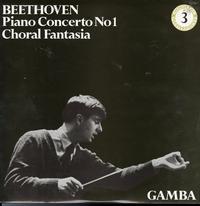 Pierino Gamba - Beethoven Piano Concerto No. 1, Choral Fantasia