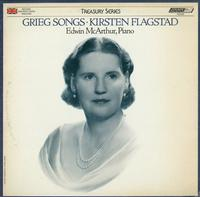 Kirsten Flagstad with Edwin McArthur - Grieg Songs