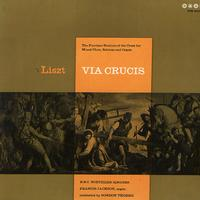 Thorne, Jackson, BBC Northern Singers - Liszt: Via Crucis -  Preowned Vinyl Record