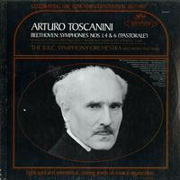 Toscanini, BBC Sym. Orch. - Beethoven: Symphonies Nos. 1, 4 & 6