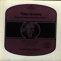 Walter Gieseking - Mozart: The Complete Music For Piano Solo Vol. 3