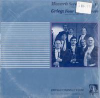 Chicago Symphony Winds - Mozart: Serenade No.11/ Grieg: Four Lyric Pieces