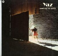 Yaz - Don't Go: Re-Mixes