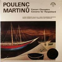 Ruzickova, Sanderling, Czech Philharmonic Orchestra - Poulenc: Concert Champetre etc.