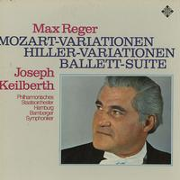 Keilberth, Hamburg State Philharmonic Orchestra - Reger: Mozart and Hiller Variations etc.