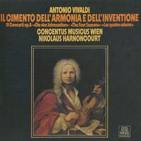 Harnoncourt, Concentus Musicus Wien - Vivaldi: 12 Concerti Op. 8