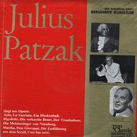 Julius Patzak - Singt aus Opern: Aida, La Traviata etc.