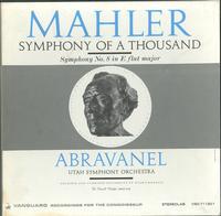 Abravanel and The Utah Symphony Orchestra - Mahler: Symphony Of A Thousand