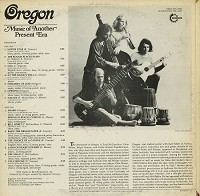 Oregon - Music From Another Present Era
