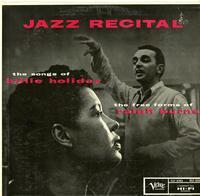 Billie Holiday - Jazz Recital