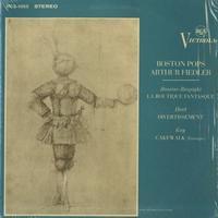 Arthur Fiedler and the Boston Pops Orchestra - Rossini-Respighi: La Boutique Fantasque etc.