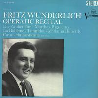 Fritz Wunderlich - Operatic Recital